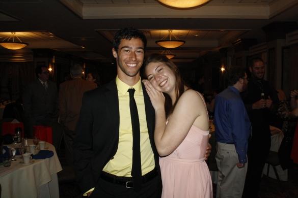 Joe Mineo and Allie Volpe.